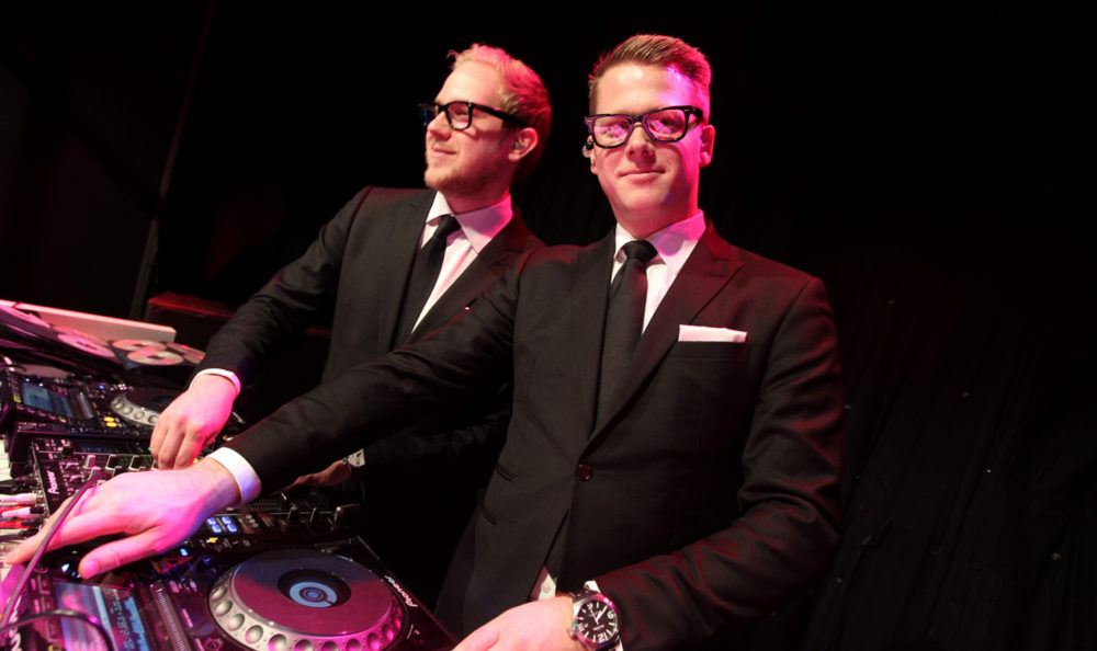 Wedding DJs Victor and Rolf