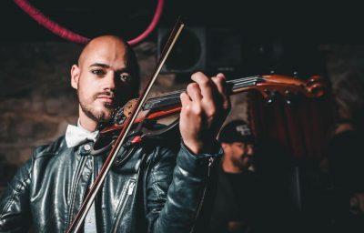 Electric Violinist Michael Hejc