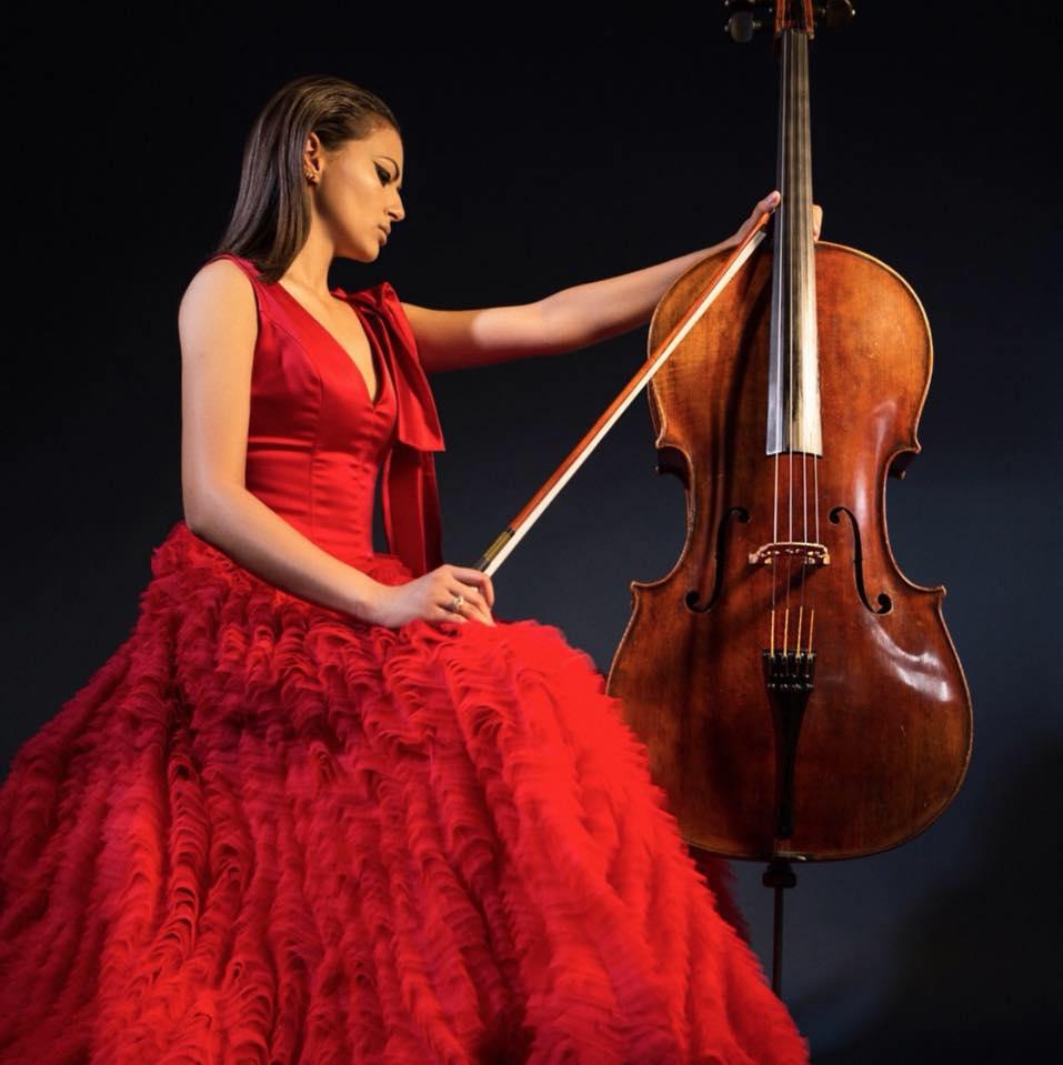 Cellist Magdalena Izakovicova